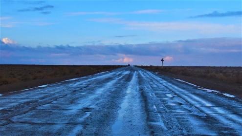 route aller Boukhara-Khiva