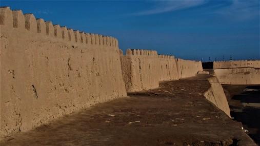 Sur la muraille