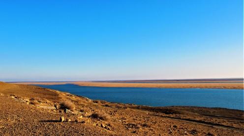 Route retour Khiva Boukhara