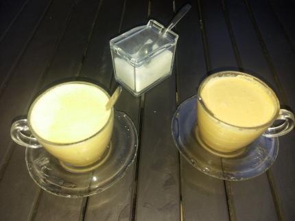 Peanut juice!