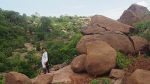 rocher de granit