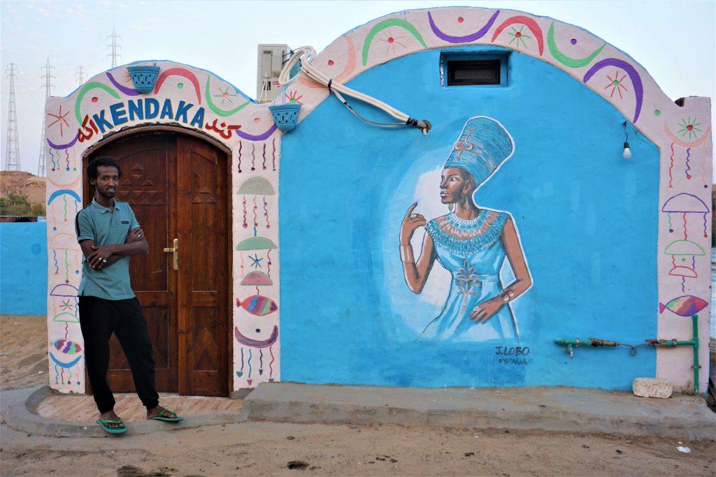 rencontre avec les Nubiens reflexion egypte afrique