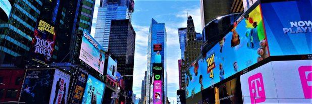 Voyages et préjugés Time Square