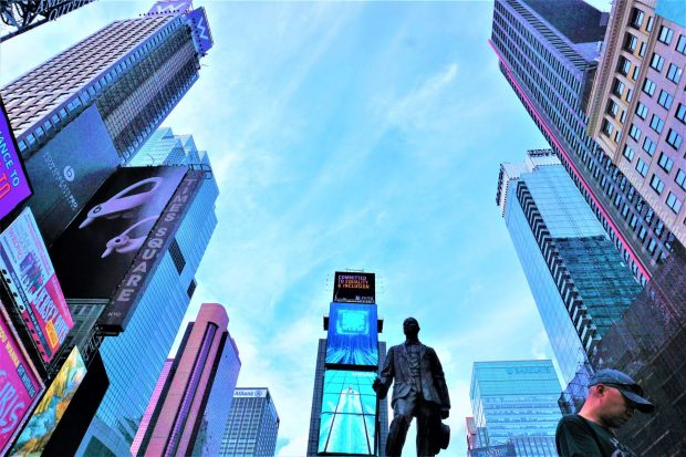 Hand-voyage New-York