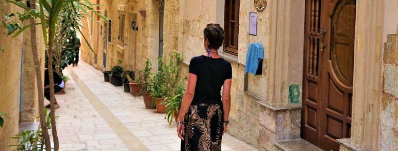 Malte, la Valette et les trois cités rue selfie