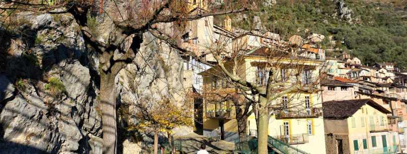 Saorge, village perché de la vallée de la Roya
